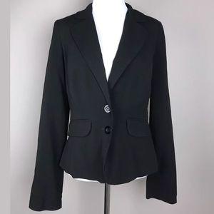 My Michelle Women's Junior Black 2 Button Blazer